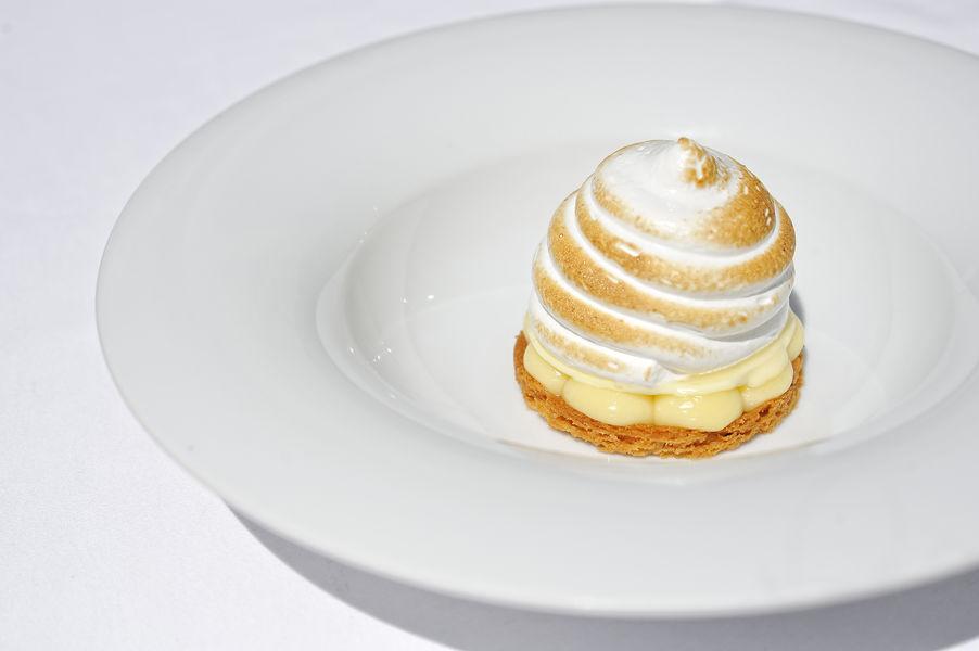 Le Saint-Christophe *** La Tarte au Citron meringuée et sorbet frappé
