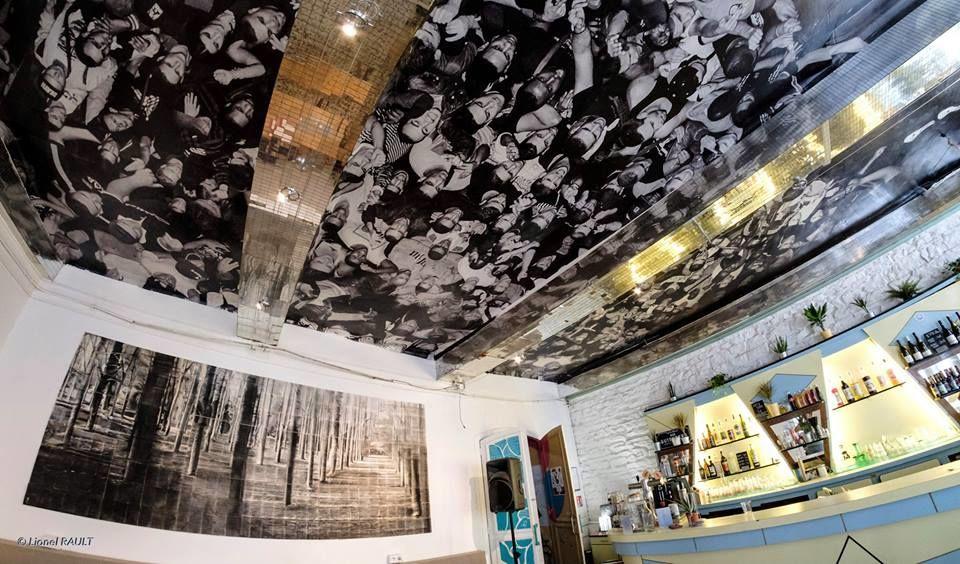Taverne Gutenberg Plafond du bar