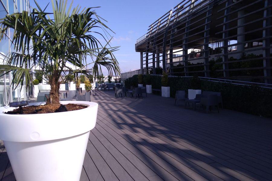 Le Pavillon de la Soie Terrasse de 500 m2