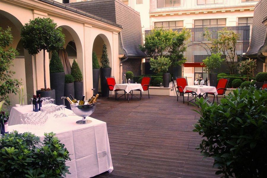 Radisson Blu Hôtel Champs Élysées ***** terrasse cocktail