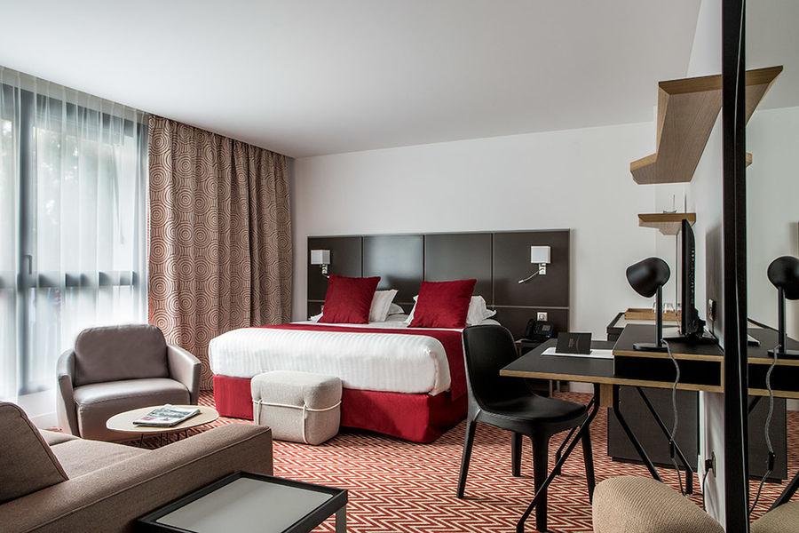 Hôtel Forest Hill Meudon Vélizy **** Chambre Deluxe 1