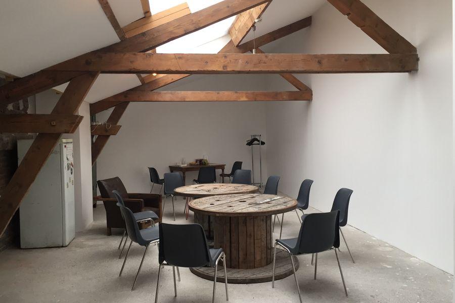 La Marbrerie Atelier 1 / Loge des artistes