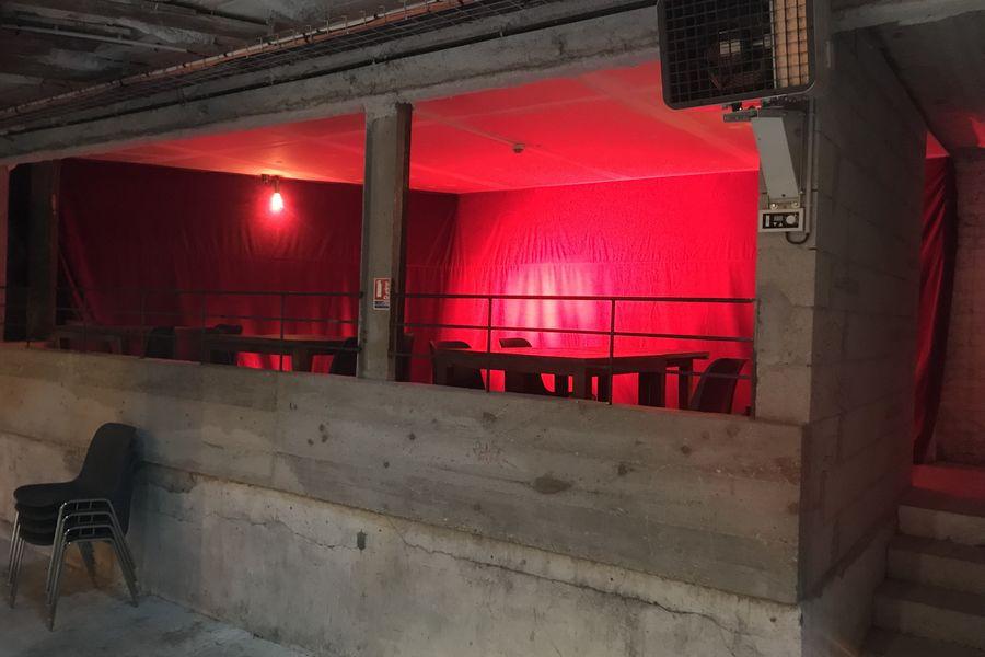 La Marbrerie La Loge VIP, située au rez-de-chaussée dans la Grande Salle