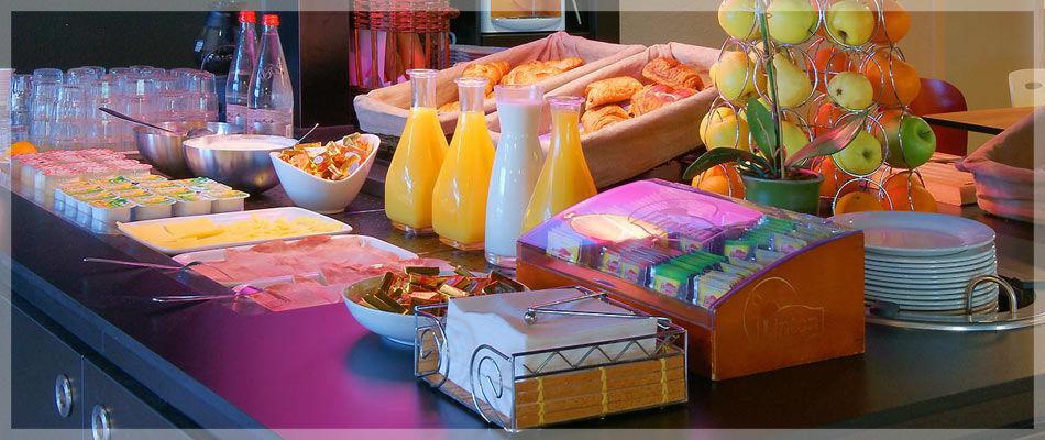 Campanile Montpellier Sud Petit-déjeuner