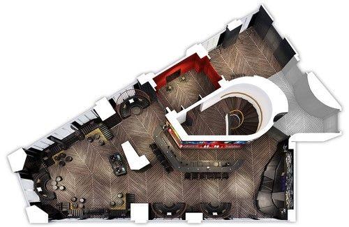 W Paris - Opéra ***** Plan 3D