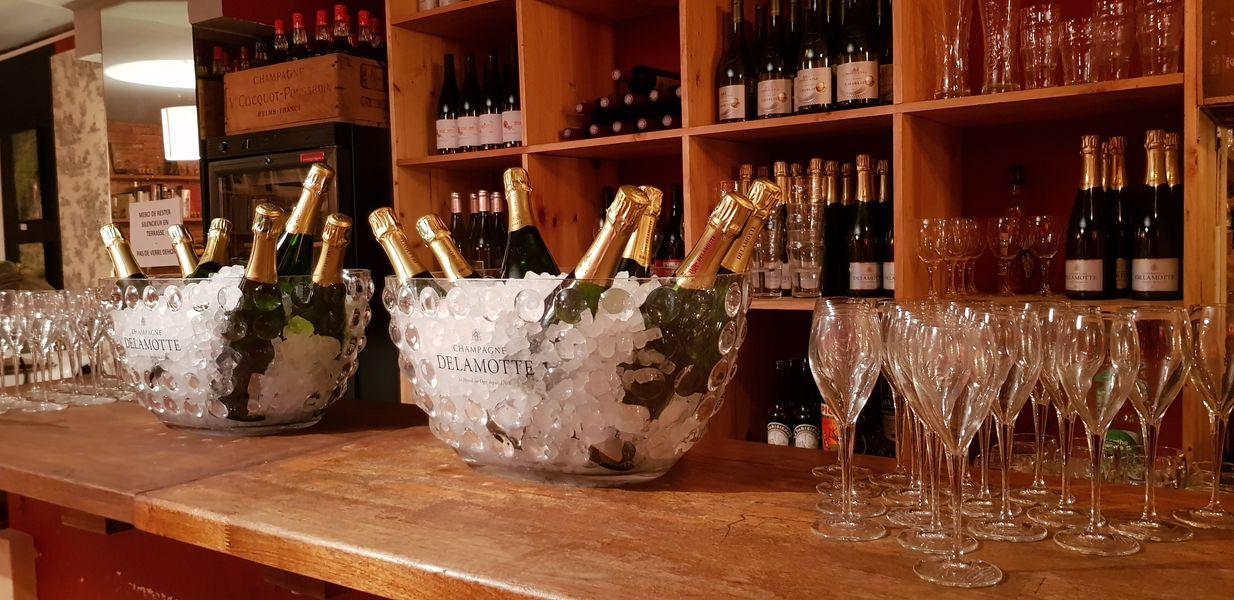 Nord Marais Exemple d'accueil au Champagne pour une soirée d'entreprise