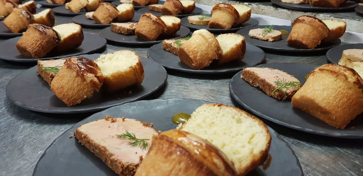 Nord Marais Brioche maison, foie gras maison pour un dîner assis