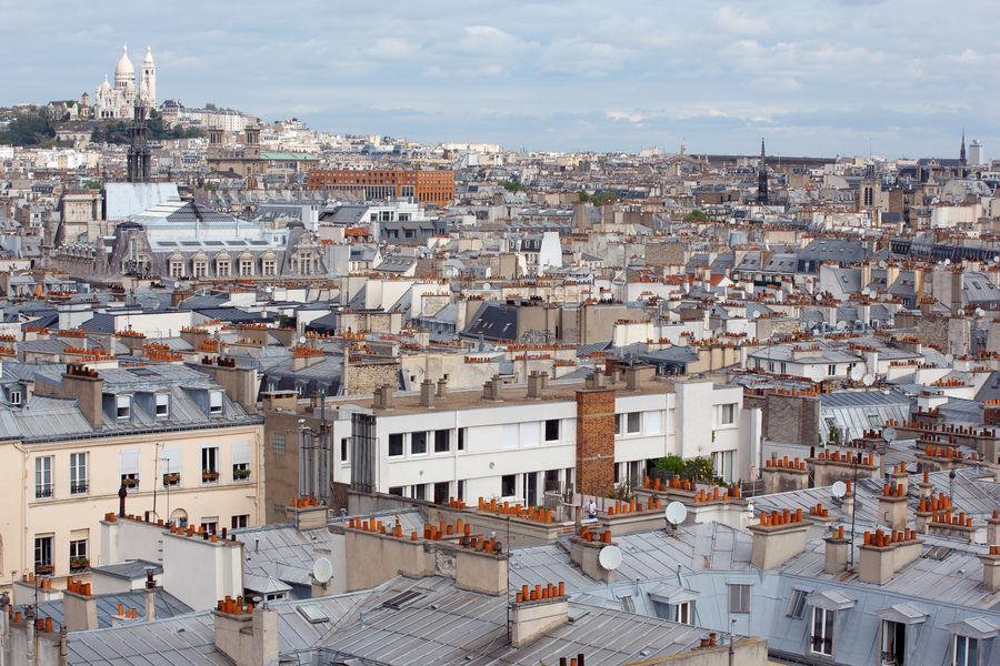 Renaissance Paris République Hotel ***** Vue sur les toits de Paris