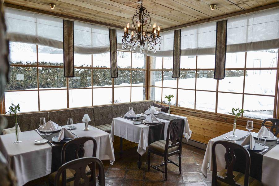 Hôtel du Jeu de Paume Chamonix  Restaurant