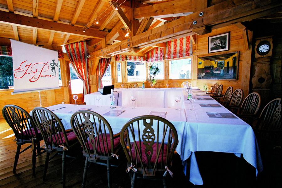 Hôtel du Jeu de Paume Chamonix  Salle de réunion