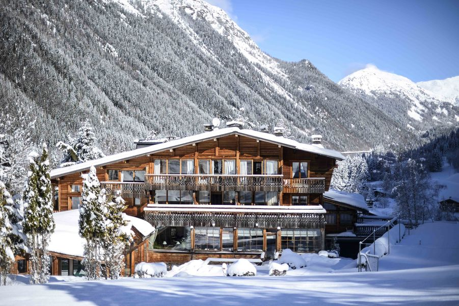 Hôtel du Jeu de Paume Chamonix  Extérieur