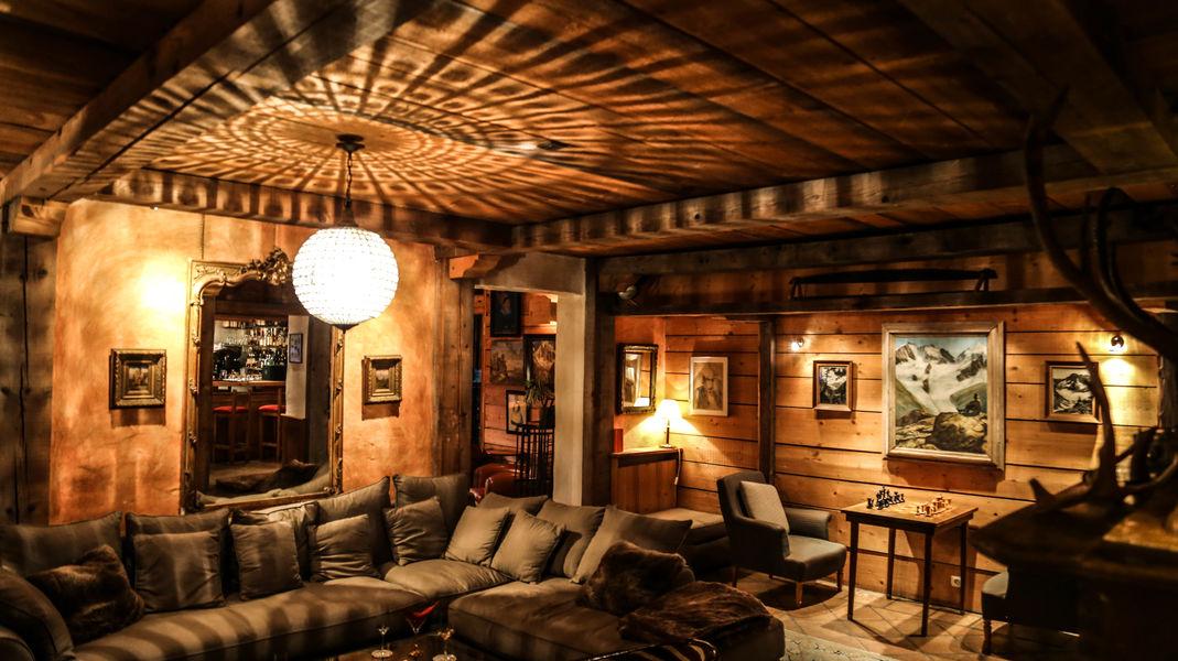 Hôtel du Jeu de Paume Chamonix  Salon