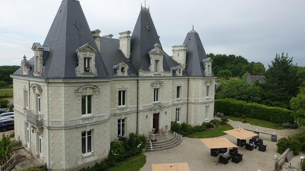 Château le Saz Château le Saz - la terrasse