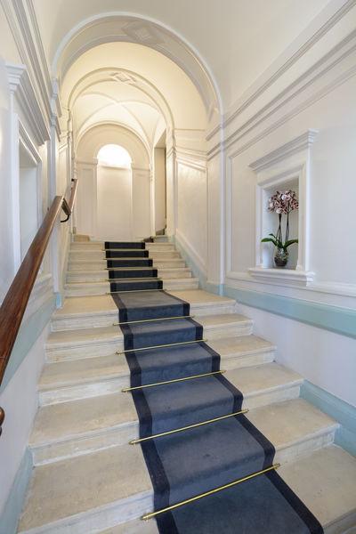 DCT -Espace Trinité escalier menant à la Salle Estienne d'Orves