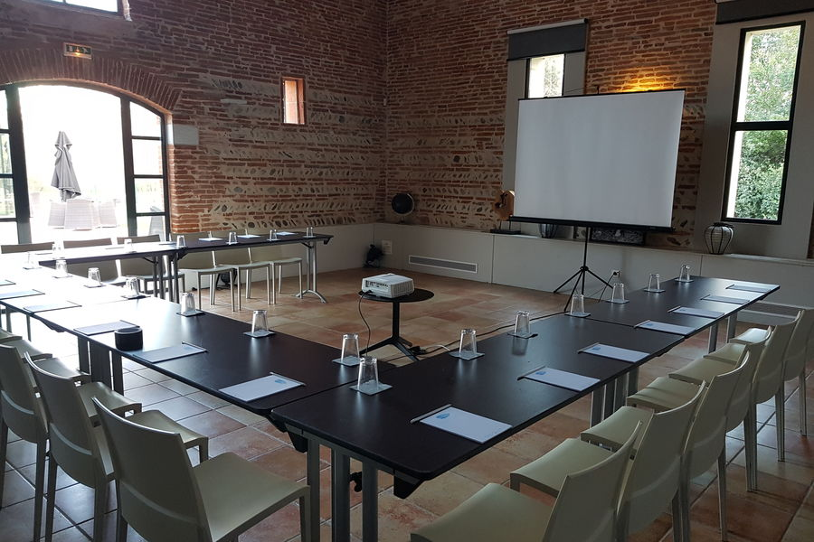 Le Mas Des Canelles Petit Salon - Configuration réunion