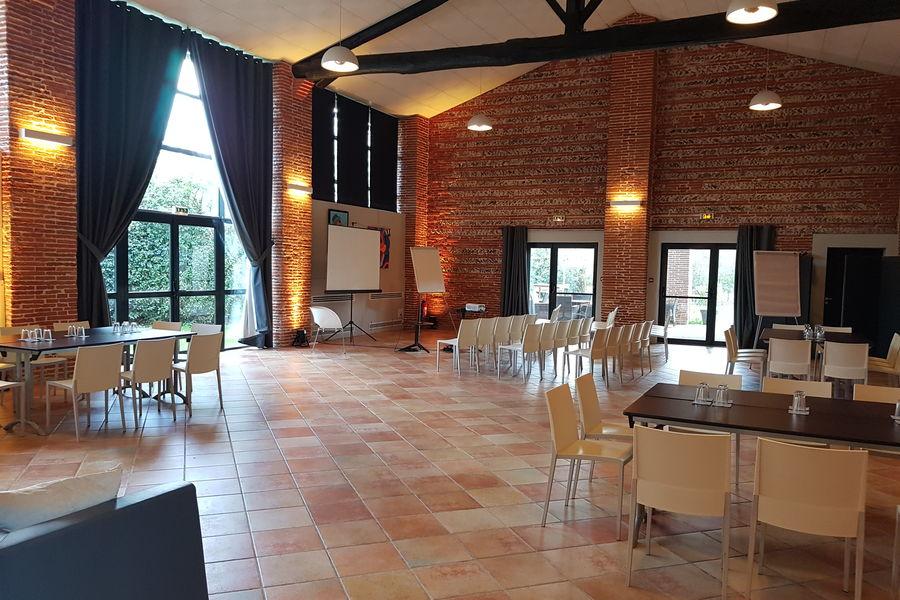 Le Mas Des Canelles Salle Tolosan - Configuration ateliers