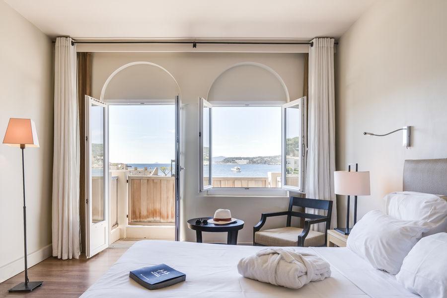 Les Îles Paul Ricard - Hôtel Delos Palais **** Chambre vue mer avec balcon Le Palais