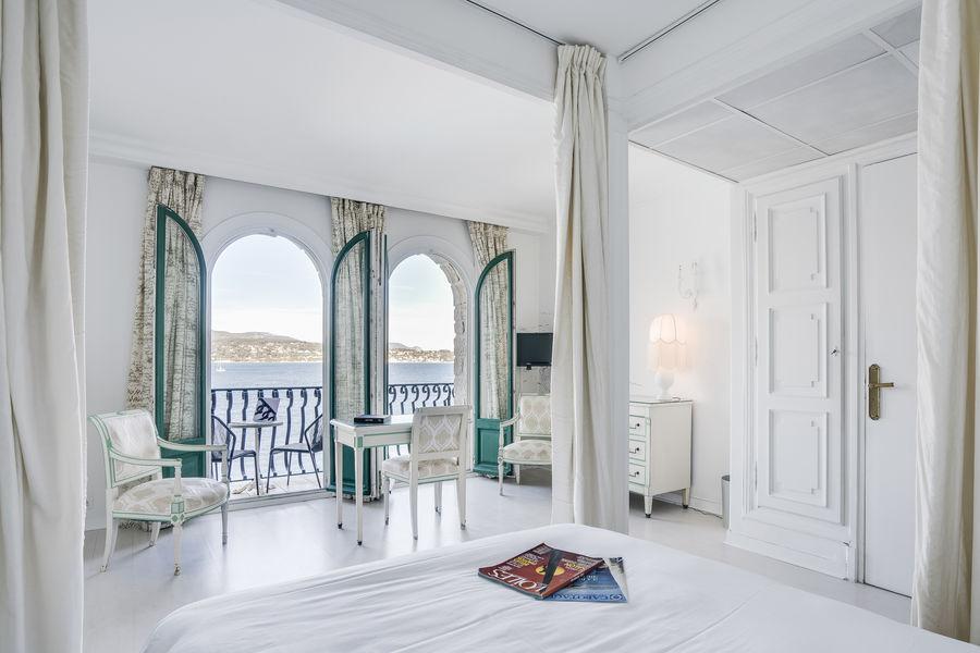 Les Îles Paul Ricard - Hôtel Delos Palais **** Chambre vue mer avec balcon Le Delos