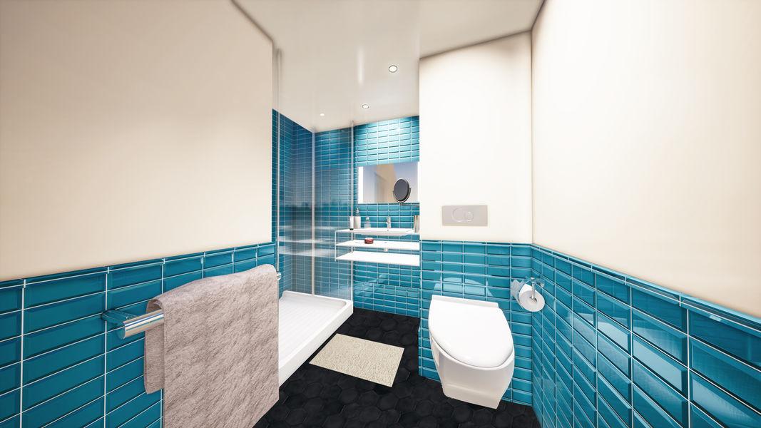 Kopster Hotel Salle de bain