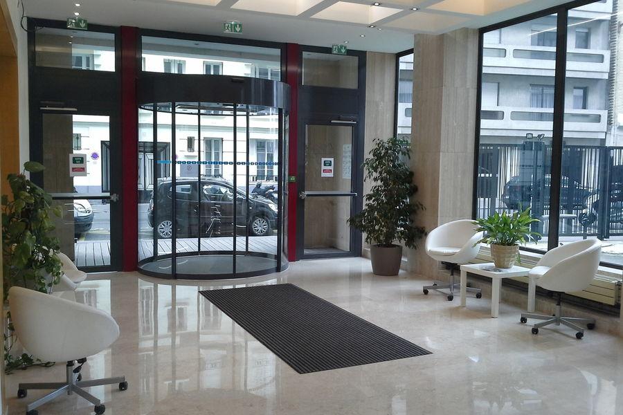 Espace Moncassin Le hall d'entrée
