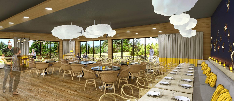 Les Trois Forêts - Center Parcs Restaurant