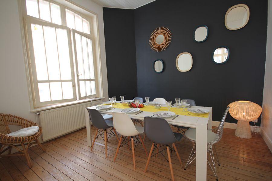 Villas Touquettoises Salon / Salle à manger