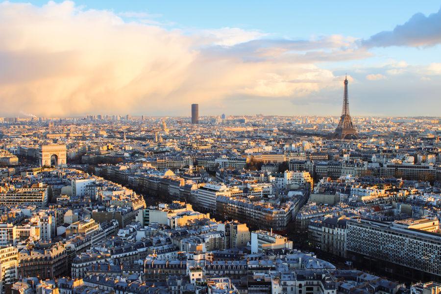 Hôtel Hyatt Regency Paris Étoile **** Vue sur Paris depuis l'hotel