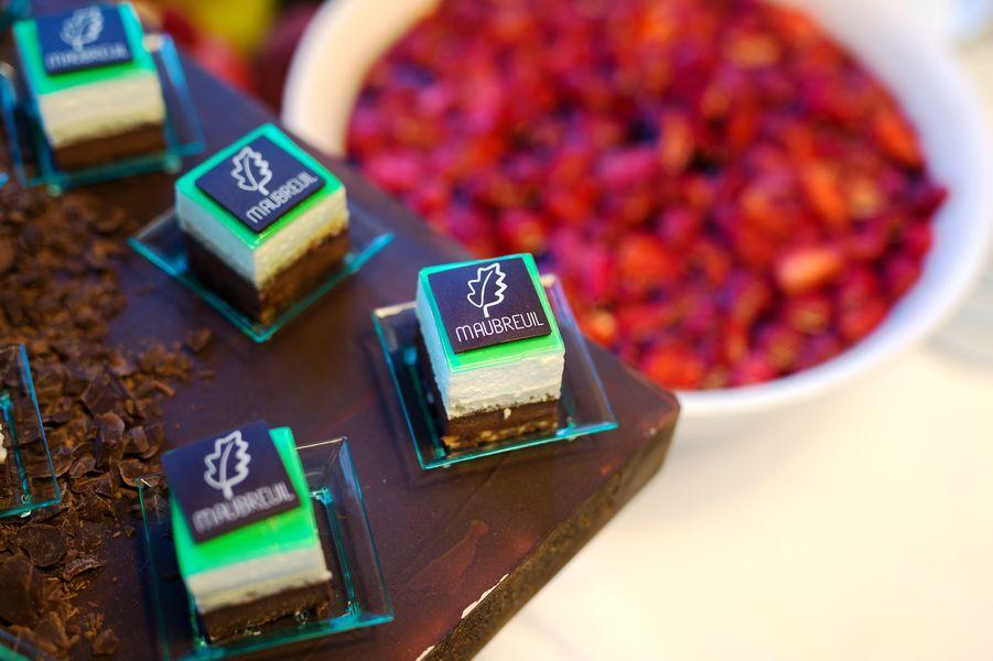 Maubreuil Séminaires Le Maubreuil - notre dessert signature