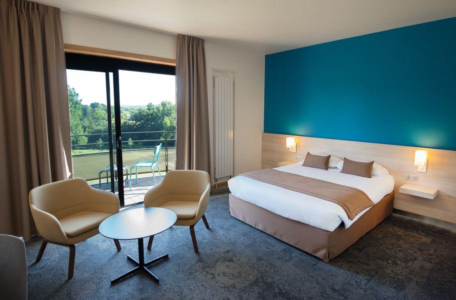 """Maubreuil Séminaires 6 chambres """"Supérieures"""" 25 m² & 3 chambres """"Privilèges"""""""