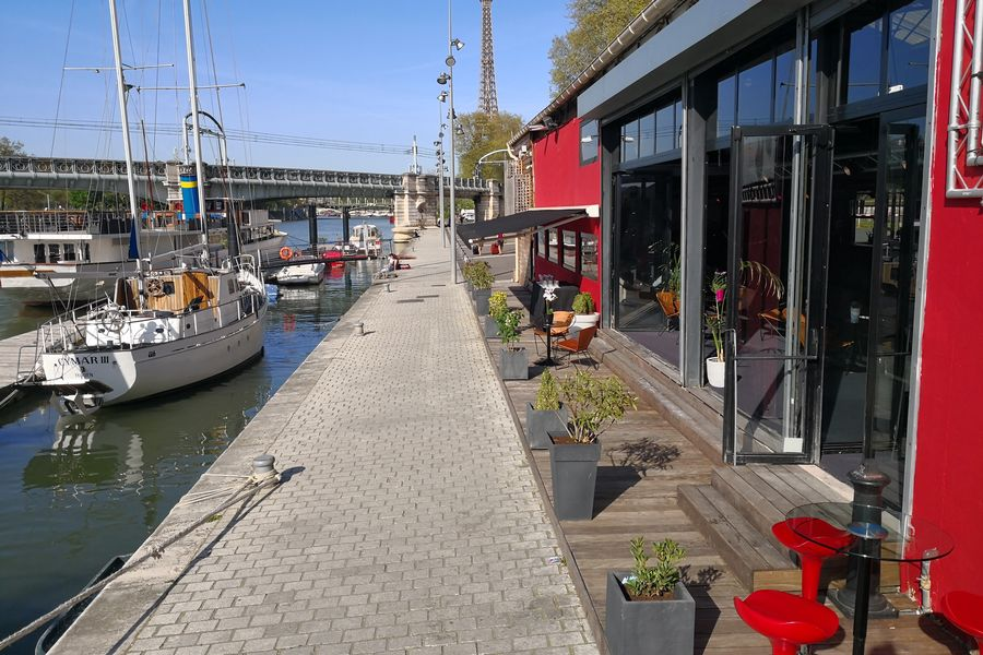 L'Atelier du France Atelier du France - terrasse extérieure