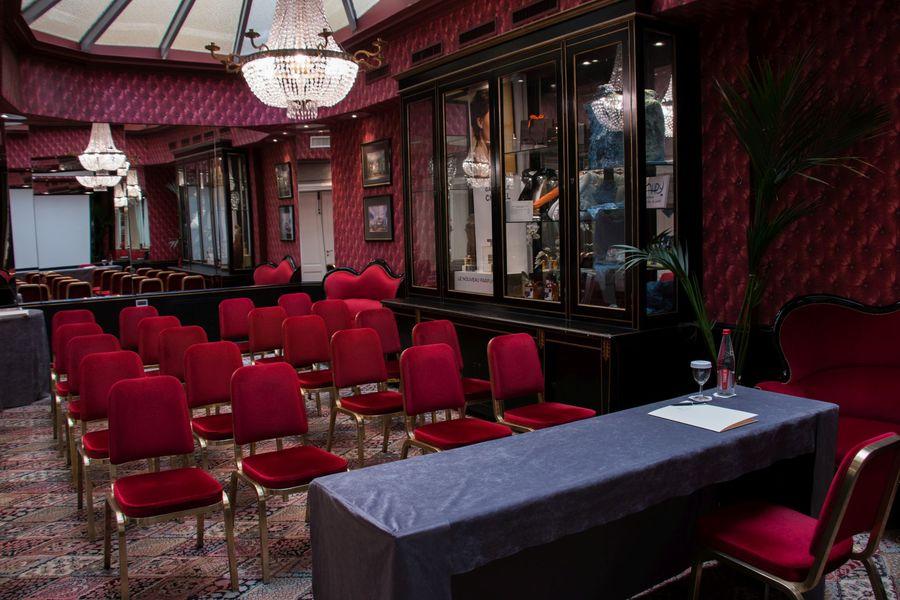 """Grand Hôtel de l'Opéra **** Salon Verrière en disposition """"Théâtre"""""""