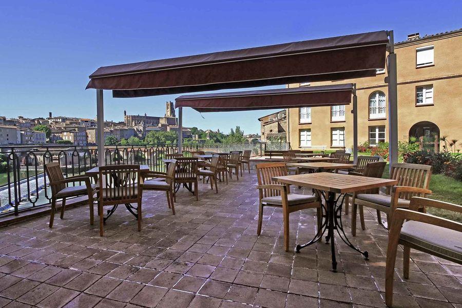 Hotel Mercure Albi Bastides **** Terrasse