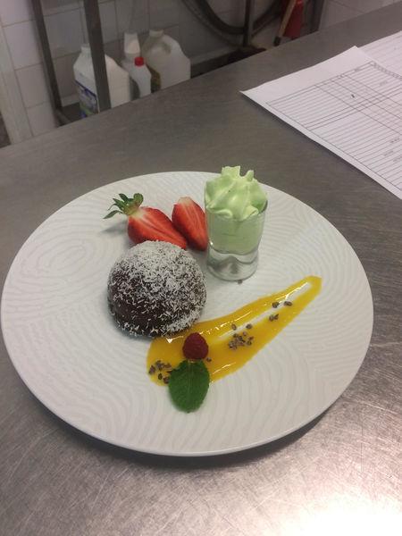 Mas de Calabrun Dôme au chocolat