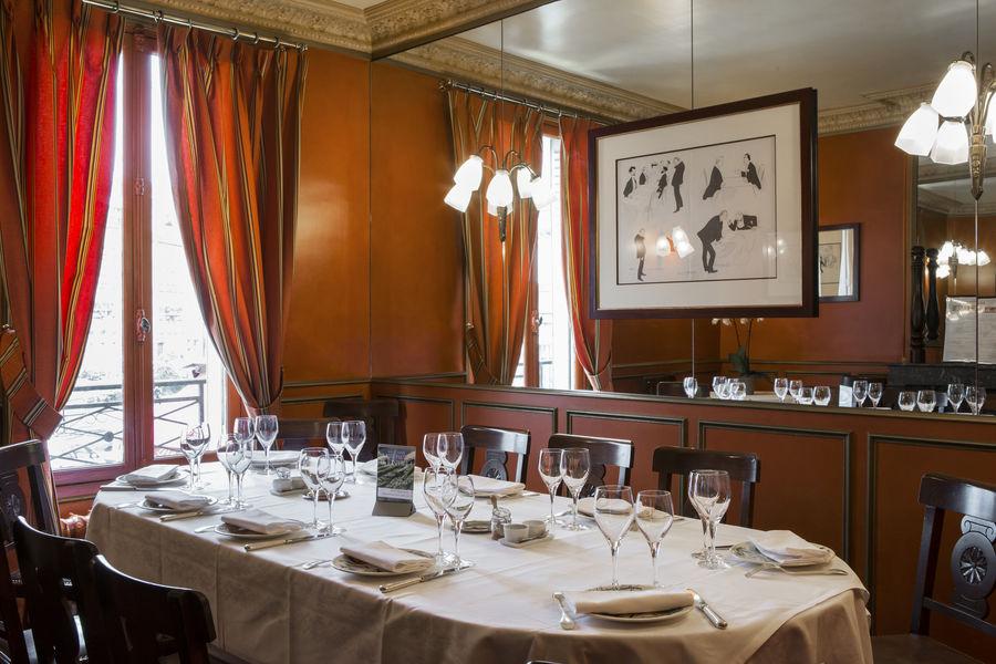 Chez Georges Salon privé Acacias