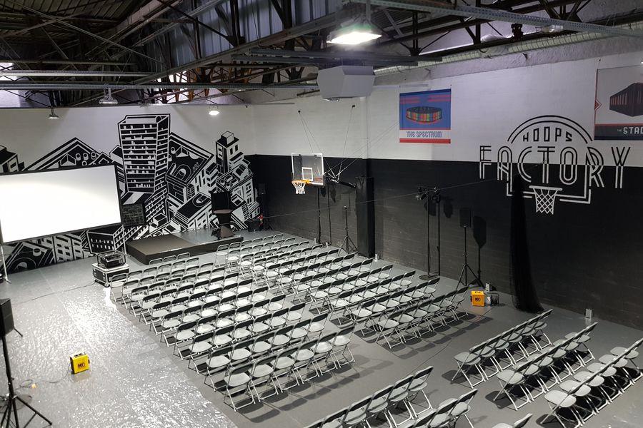Hoops Factory Salle de séminaire