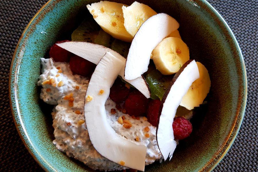 Novotel Cergy Pontoise **** Chia Pudding aux fruits frais