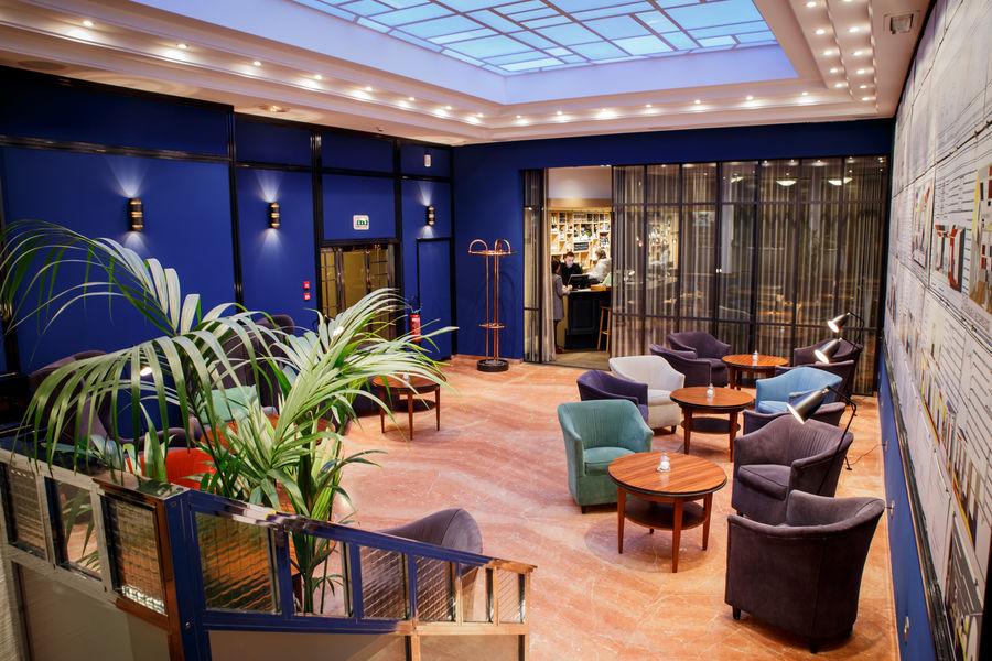 """Hôtel Hannong **** Salon Horn à verrière, style """"années 30"""""""