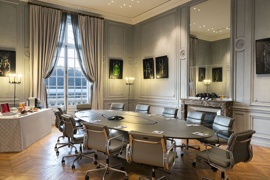 Campus Serge Kampf Les Fontaines Board room