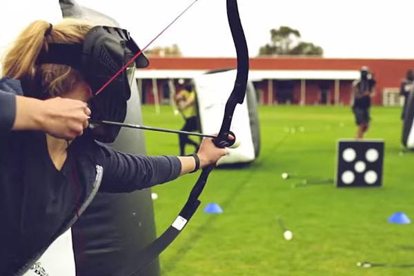 Soccer Rennais Activité Archery Game