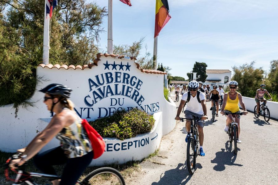Auberge Cavalière du Pont des Bannes **** Sortie à vélo depuis l'hôtel