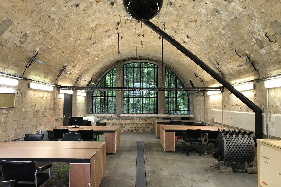 Fort d'Aubervilliers Casemate 4 - configuation coworking (démontable)