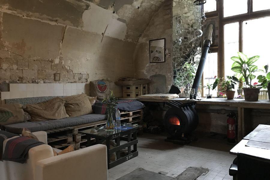 Fort d'Aubervilliers Casemate 3 - Social space