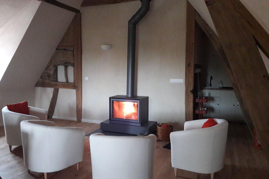 Les Lettres de mon Moulin Le Moulin à Parole - autour du feu !
