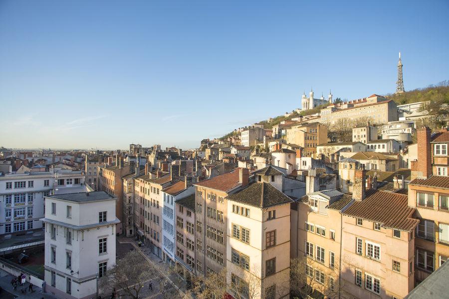 Collège Hôtel **** Vue sur le Vieux Lyon