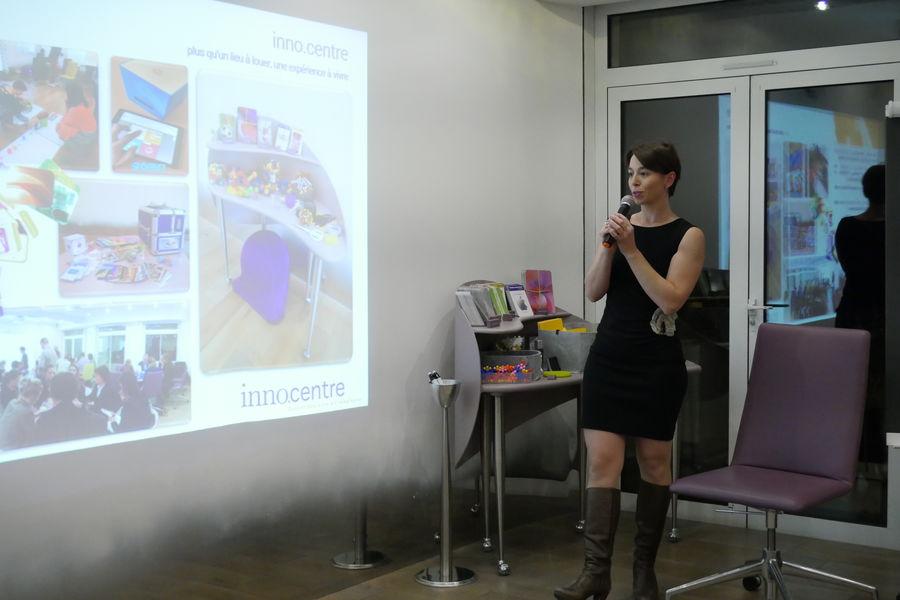 inno.centre Mur tactile et digital d'inno.centre facilitant vos présentations
