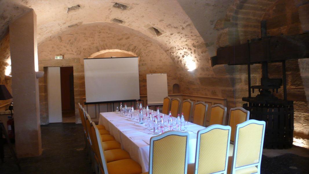 Château de Rochegude Salle Pressoir