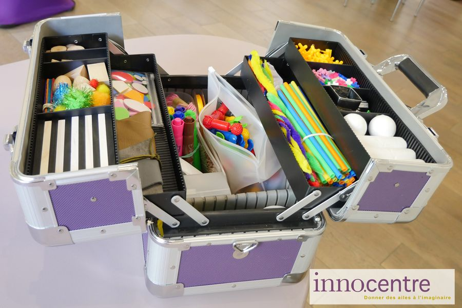 inno.centre Outils à disposition sur place : fab.box, the fabulous box for makers