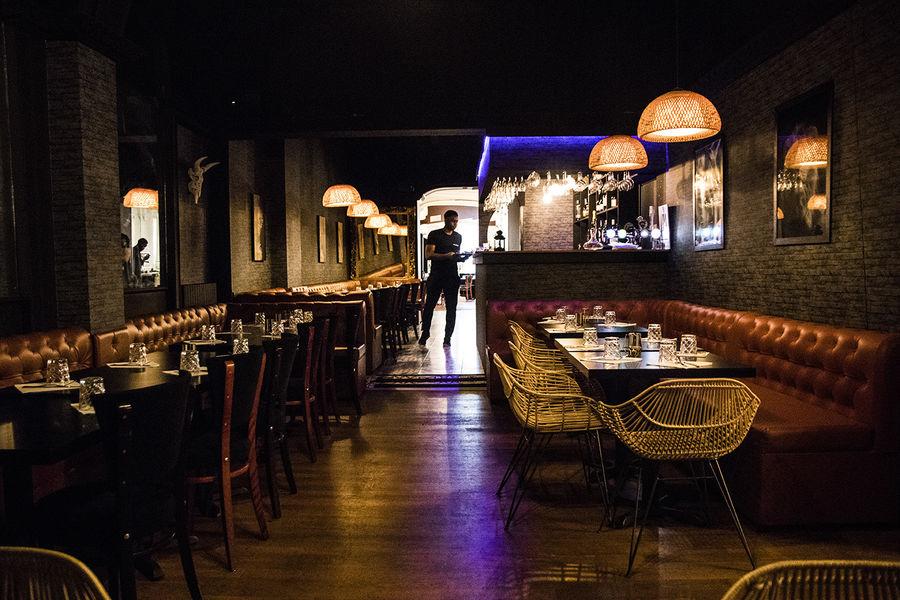 Villa Maasai Salle du restaurant