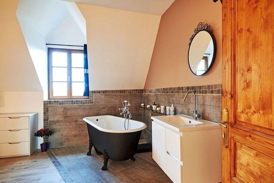 La Tour d'Aligre Salle de bain