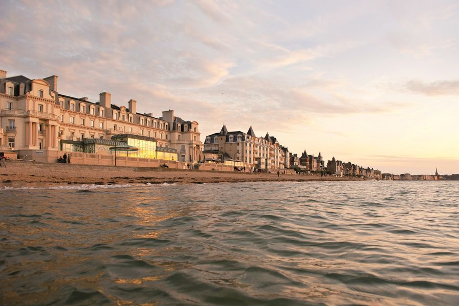 Grand Hôtel des Thermes ***** Grand Hôtel des Thermes vue mer